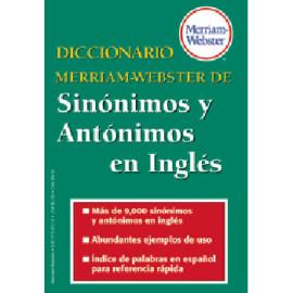 Diccionario de Sinónimos y Antónimos en Inglés