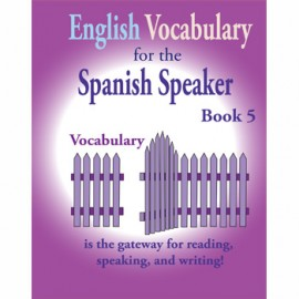 Vocabulary Spanish Speaker 05
