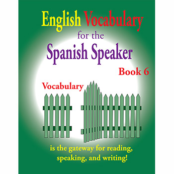 Vocabulary Series Book 6