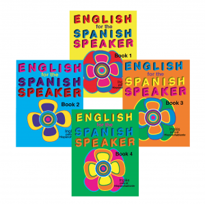 Four book E series: Inglés para el Hispanohablante