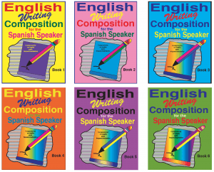 English Writing Composition. EWC Covers