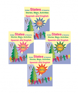 United States of America Stories, Maps, Activities in Spanish and English