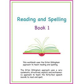 Reading and Spelling E-Book